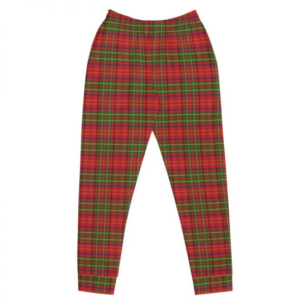 red tartan jogging pants